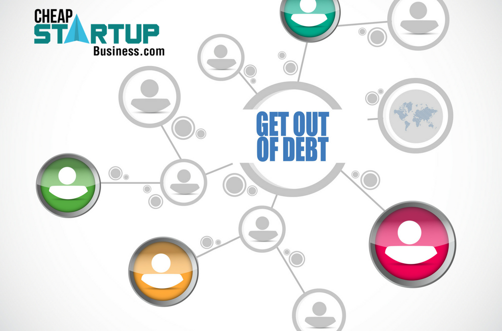 Best Ways to Get Out of Debt-Doing Online Business