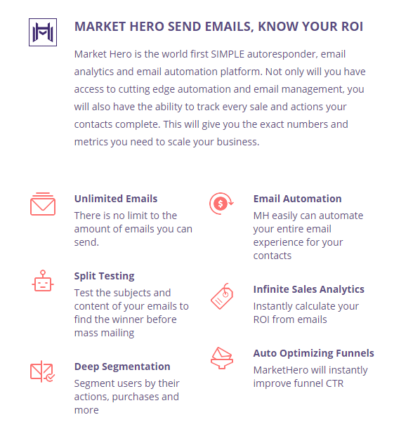 Market Hero Email Marketing